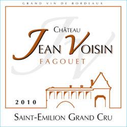 étiquette Château Jean Voisin Fagouet