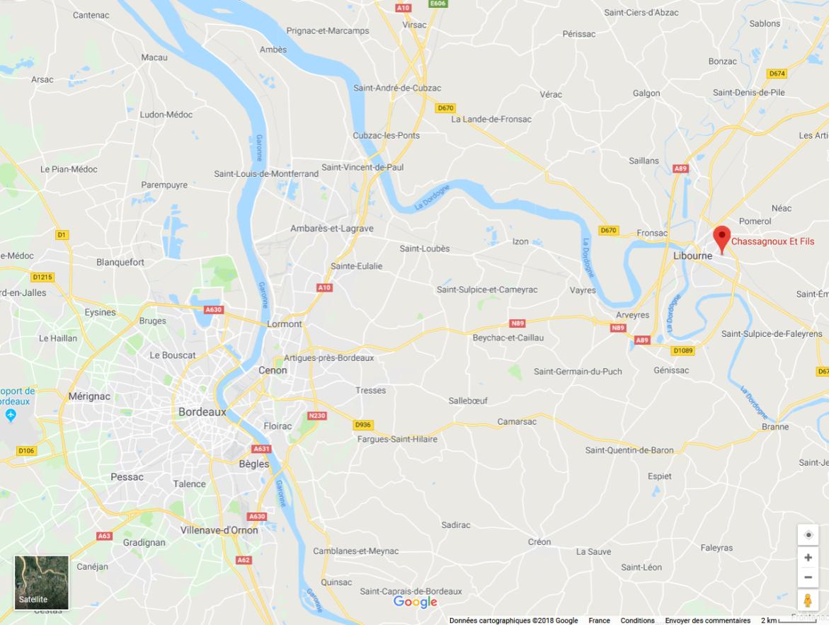 chassagnoux location